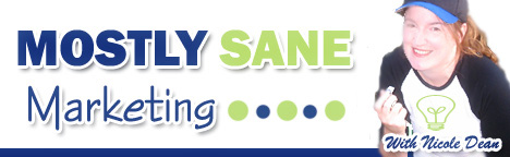 Mostly Sane Marketing logo